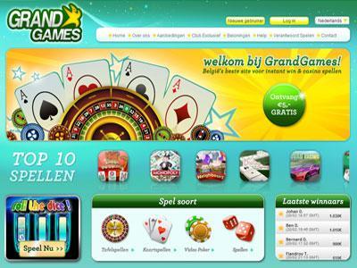 Bonus GrandGames Casino
