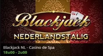 Live casino belgie nederlandstalige blackjack