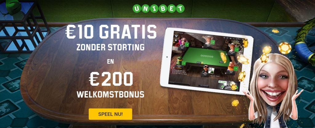 unibet keuze bonus poker