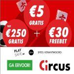 Circus.be gratis bonus